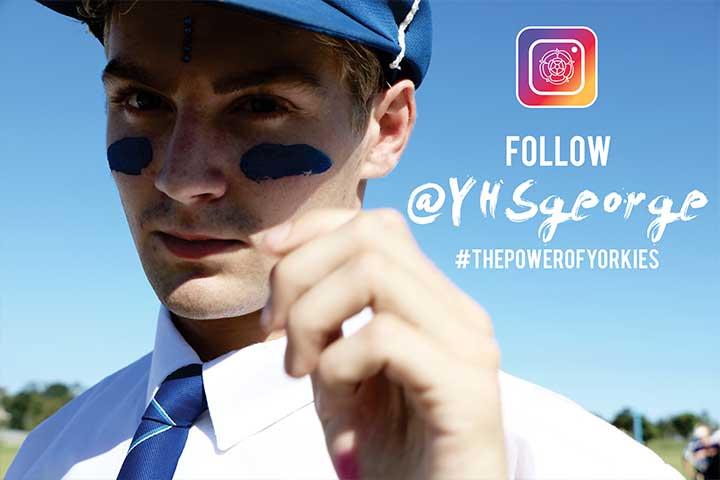 YHSgeorge Instagram Page